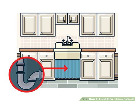 ikea kitchen cabinet installation instructions how to install ikea kitchen cabinets with pictures wikihow