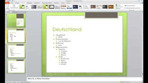 gliederung in powerpoint erstellen mit ms office word 2010