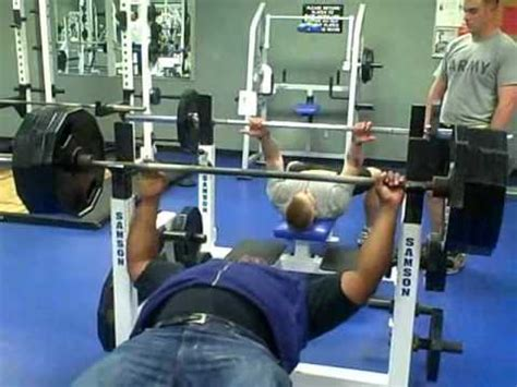 the big show bench press 405 lbs bench press by big brian youtube