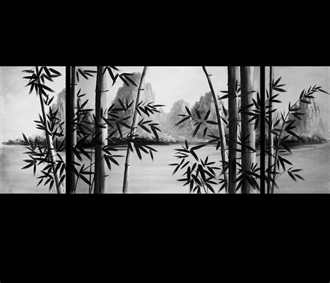 Canvas Painting For Home Decoration by Framed Artwork Canvas Art Bamboo Art Canvas Prints
