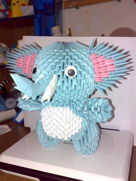 3d origami elephant elephant origami 3d by sfa87 on deviantart