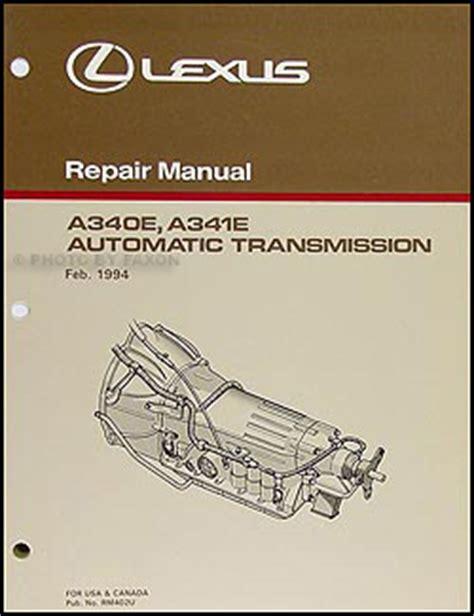 automotive service manuals 1993 lexus sc transmission control 1996 lexus ls 400 wiring diagram manual original