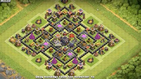 layout coc th9 anti giant 14 anti 3 star farming guerra layouts base para junho