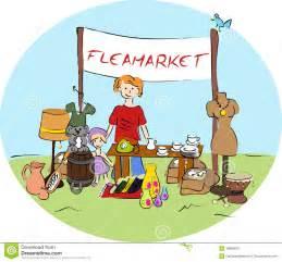 3 Stall Garage Plans flea market stock vector image of belongings loiterer