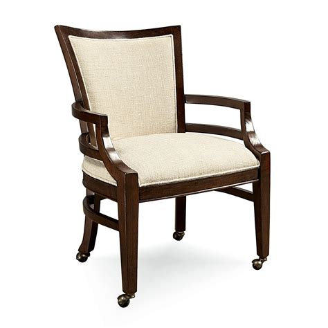 latitudes dining chair with casters at hayneedle