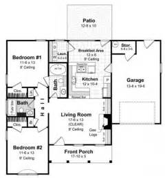 Simple House Designs And Floor Plans by Tips To Create Simple House Design With Two Bedrooms