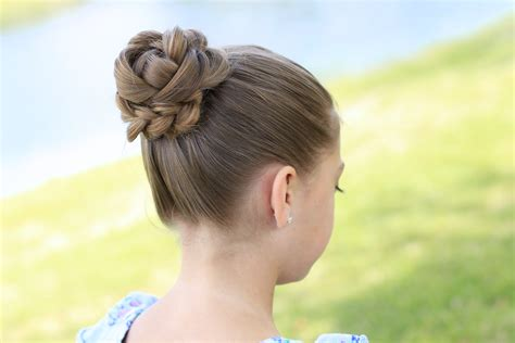 updo hairstyles with 3d braids how to create a 3d flower braid cute updos cute girls