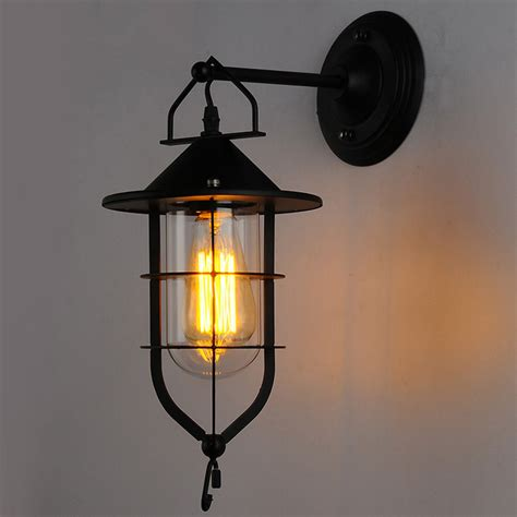 Indoor Lights by American Industrial Country Retro Wall L Dock Iron Bar