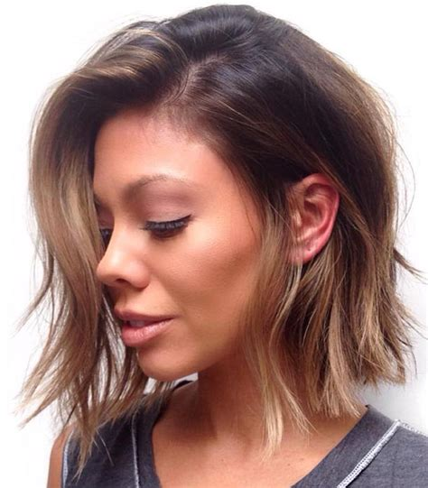 short below the ears choppy bobs black hairstyles behind ear hairstylegalleries com