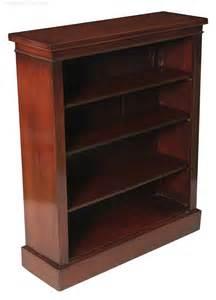 small mahogany bookcase small mahogany open bookcase antiques atlas