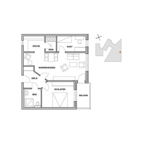 wohnung 60 m2 grundriss grundrisse