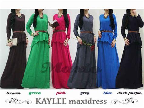 Harga Baju Muslim Wanita Terbaru Keranjangpakaian Maxio Model