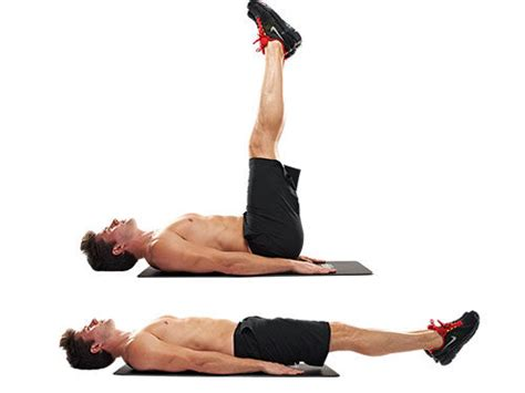 lying bench leg raise the low down on lower ab exercises fit tip daily