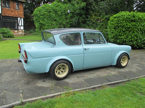 vauxhall anglia 1967 ford anglia with a vauxhall top engineswapdepot com