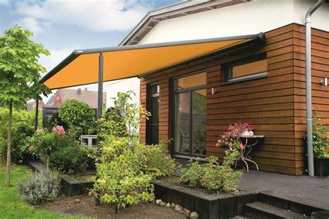 wetterfeste markisen terrassenmarkisen gegen sonne und regen
