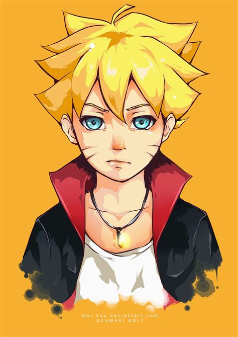 boruto image my own story karakter baru dalam komik naruto naruto gaiden