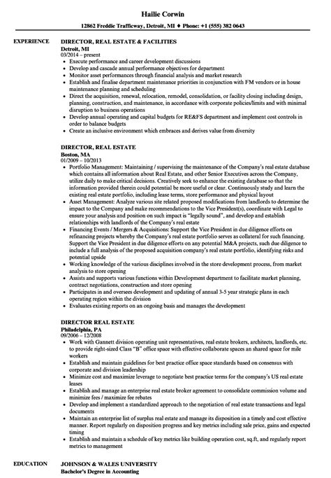 real estate appraiser resume real estate resume examples agents for