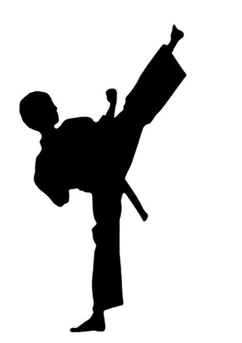 karate clipart karate silhouette clipart