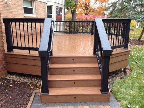 easy deck ideas simple decks here s a simple deck with black woo