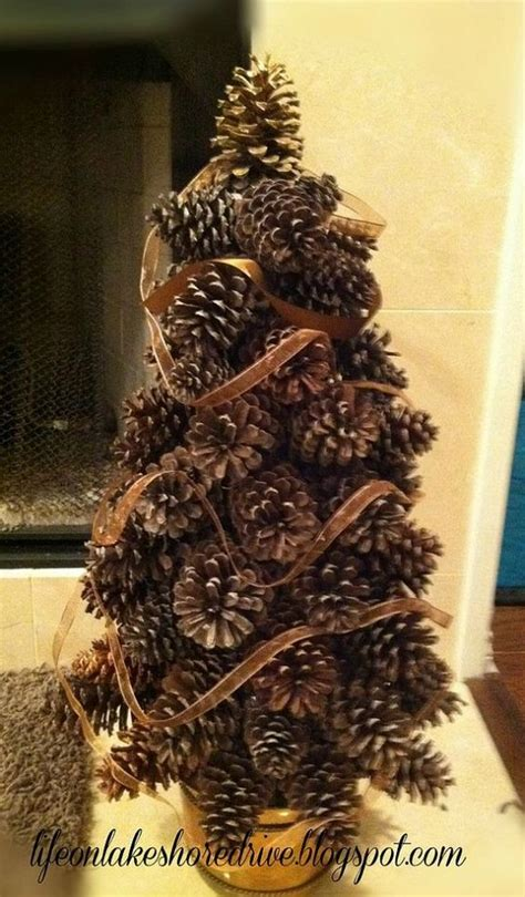 How To Make A Pine Tree Out Of Paper - 17 amazing pine cone decorating ideas idea box by kathy