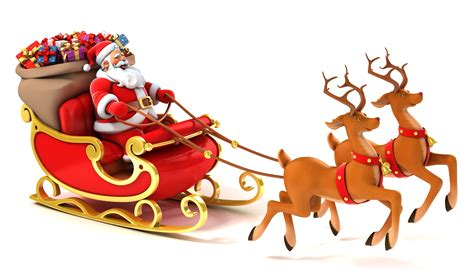 animated photos of christmas santa claus with reindeer and new year wallpapers hd desktop backgrounds page 6