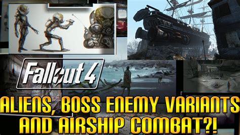 Analyzing Fallout 4 Concept Art Aliens Boss Enemies | analyzing fallout 4 concept art aliens boss enemies