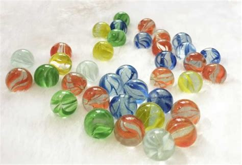Marbles For Vases by 50pcs Lot Multi Color 14mm Glass Marbles For