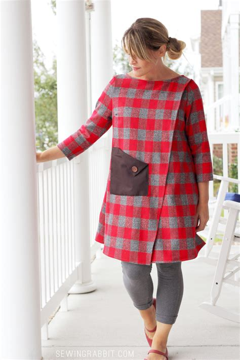 sewing pattern wrap wrap dress a variation of the wrap blouse sewing