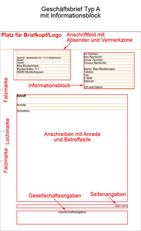 Anschreiben Muster Leerzeichen Din 5008 Gesch 228 Ftsbrief Erstellen Nach Din Norm