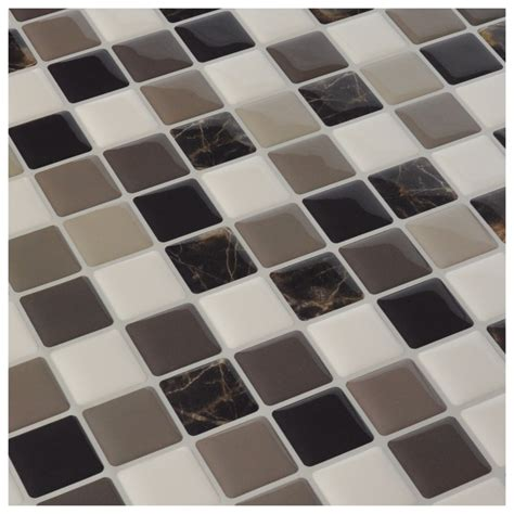 vinyl wall tiles backsplash diy vinyl tile backsplash adhesive wall covering for
