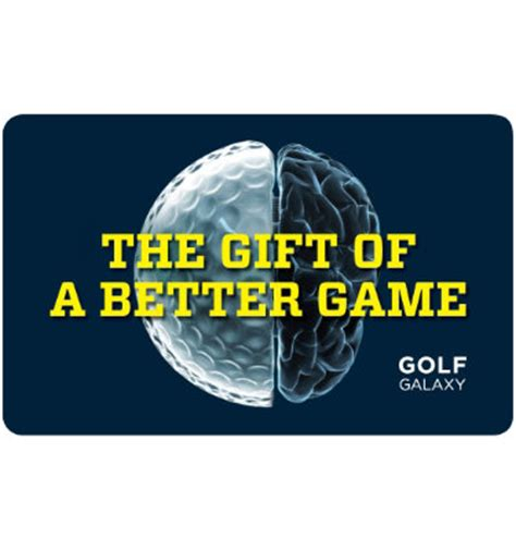 Golf Gift Cards - spot the golf ball 187 golf galaxy gift card