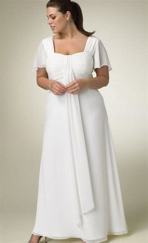 white wedding dresses 2009 plus size wedding dresses pluslook eu collection