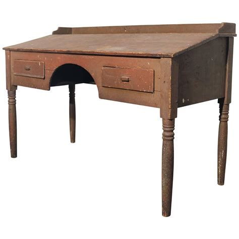 Antique Primitive Wood Standing Desk For Sale At 1stdibs Antique Standing Desk