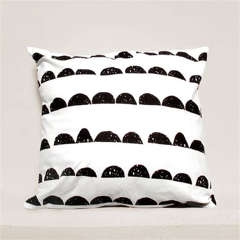 Moon Pillow - half moon pillow cover geometric pillow pillows
