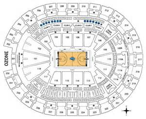 Amway Center Floor Plan by Premium Seating Orlando Magic