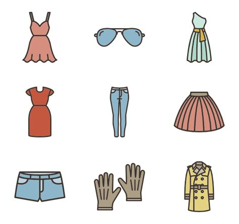 how to set color in clothes clothes icons 18 066 free vector icons