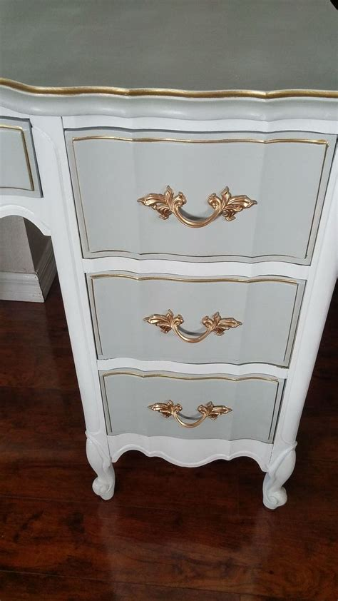 Hometalk French Provincial Desk Makeover Provincial Shabby Chic Furniture