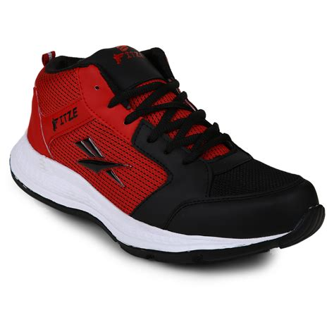 buy fitze s black and sport shoes in india