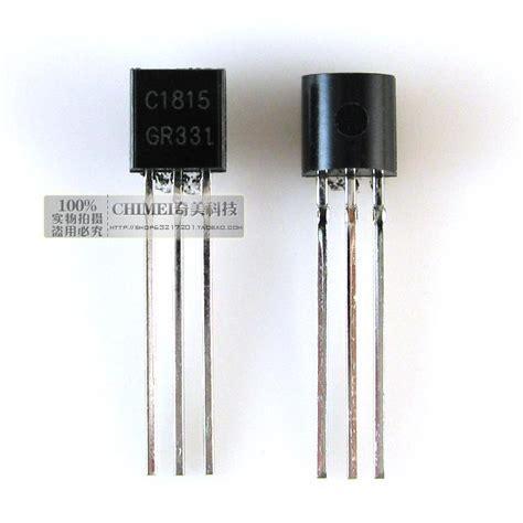 transistor equivalente al c1815 entrega gratuita c1815 transistor to 92 paquete de tiristores de baja potencia l 237 nea de piezas