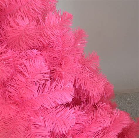 1 8m 6ft pink artificial christmas tree