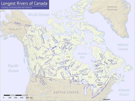 canadian map rivers back river chantrey inlet