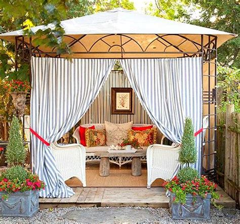 Bring A Beach Cabana To The Backyard For The Ultimate Backyard Cabana Ideas