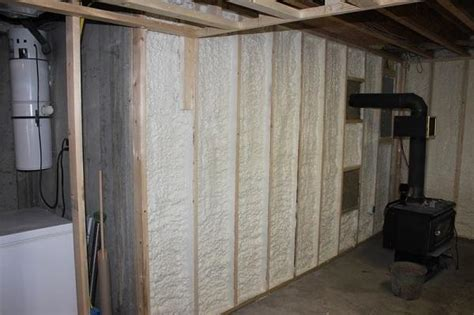 styrofoam basement walls edgewater new jersey spray foam insulation contractor