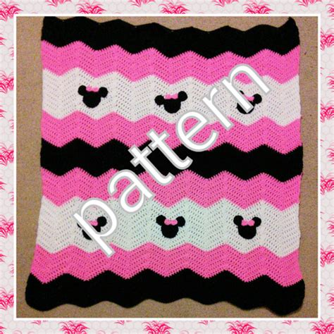 free minnie mouse afghan patterns just b cause