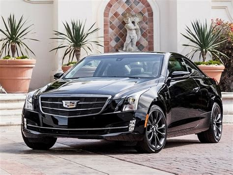 cadillac ats blacked out 2016 cadillac ats and cts offer new black chrome packages