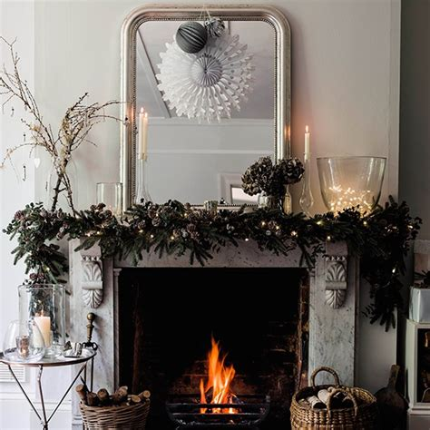 companies that decorate homes for christmas top festive fireplace ideas