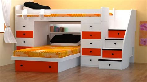 Space Saving Bunk Beds For Small Rooms Space Saving Bunk