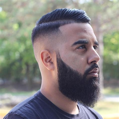 even all over fade 2017 beard styles