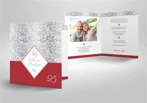 Einladungskarten Zur Silberhochzeit by Einladungskarten Einladungskarten Silberhochzeit