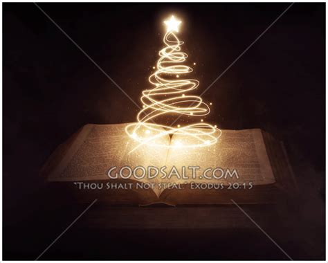 christmas tree bible